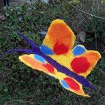 Schmetterling, ca. 30cm Spannweite