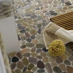 Mosaico SASSI DI FIUME MULTICOLOR