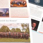 WelfenAkademie |Periodicum im Zeitungsformat - infragrau, gute Gestaltung