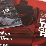 Jan Behrens |Plakat, Einladungskarte - infragrau, gute Gestaltung