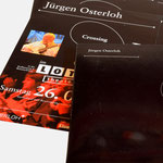 Jürgen Osterloh |Crossing The Borders - infragrau, gute Gestaltung