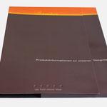 everdure |Produktmappe mit Informationsbroschüren, etc. - infragrau, gute Gestaltung