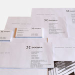 booyaa | Visitenkarten, Briefbögen - infragrau, gute Gestaltung