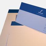 Landsperger | Briefbögen - infragrau, gute Gestaltung