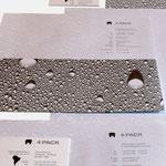 4pack | Visitenkarten, Briefbögen, Briefumschläge verschiedener Formate - infragrau, gute Gestaltung