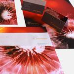 prime factory | Visitenkarten, Briefbögen - infragrau, gute Gestaltung, vormals für nullplus umgesetzt