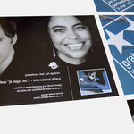 Jan Behrens, Projekt JB plays II | InfoCard zum CD-Release JB plays II - infragrau, gute Gestaltung