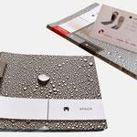 4pack | Broschüre - infragrau, gute Gestaltung