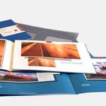 Nurizon | Broschüre - infragrau, gute Gestaltung
