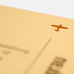 infragrau |Visitenkarte - infragrau, gute Gestaltung