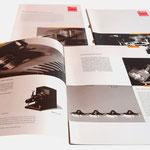 Zett Optics | Broschüre - infragrau, gute Gestaltung
