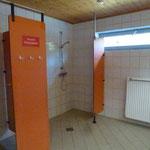 Wasch- und Duschraum