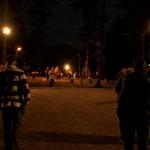 ...und abends mit Flutlicht