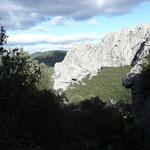 randonnée à Lagorce