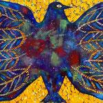 羽根を伸ばすも休めるもワタシの自由