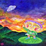 UFO見たよ