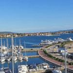 Teilansicht Hafen Sukosan