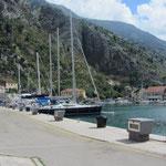 Stadthafen von Kotor