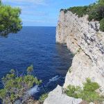 Dugi Otok- Telascia - Mir - Die Klippen 1