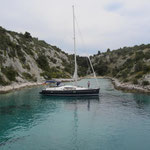 Ruhige Bucht Borovica