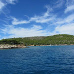 Insel Murter - Bucht Kosirina - Campingplatz