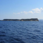 Korfu (Nisos Kerkyra) nördl. erste Ansicht