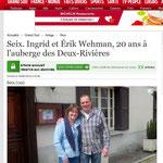 Artiekel la Dépêche 09/06/2014