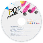 "SOUNDAHOLIC mini album ""POP"" CD label"