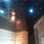 Spanndecke mit Sternenhimmel