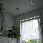 Spanndecke grau Badezimmer