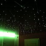 Spanndecke mit Sternenhimmel & indirekter LED Beleuchtung
