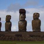 Moai am Ahu Tongariki