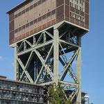 Hammerkopfturm ehem. Zeche Minister Stein, Dortmund - Eving - Aug 2014