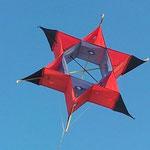 Tumbling Star Erster gebauter Drachen aus Futerstoff