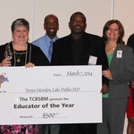 Tonya Monden, Winner of the Educator of the Year Award