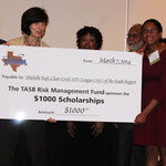 Michelle Raji from Clear Creek ISD, Winner of the Student College Scholarship