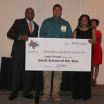 Jordan Johnson from Gonzales ISD, Winner of the Student College Scholarship