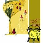 """illustrazioni """"la bella infinita"""", ed. CDE, bellinzona"""