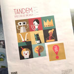 Rivista Tandem Spicchi di vacanza 2017 (illustrazioni e impaginazione)