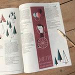 Rivista Tandem, Spicchi di vacanza, edizione 2019 (illustrazioni e impaginazione)