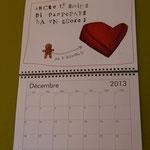 calendario da parete (grandezza totale A3)