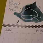 calendario da parete  2014