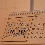 calendario da tavolo 2014