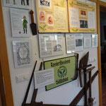 Eine Wand ist für die Forstgeschichte reserviert