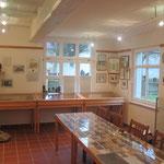Das alte Klassenzimmer beherbergt die Ortsgeschichte von Söllichau
