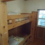 Bタイプ 小部屋(2段ベット)