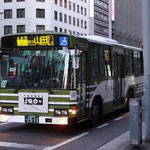 県庁~八丁堀間にて