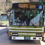 熊野営業所にて