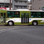 広島バスセンター~十日市間にて