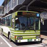 矢野駅前にて